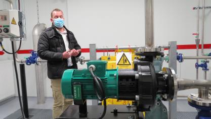 Le chantier-école permet aux stagiaires de passer leurs habilitations nucléaires.