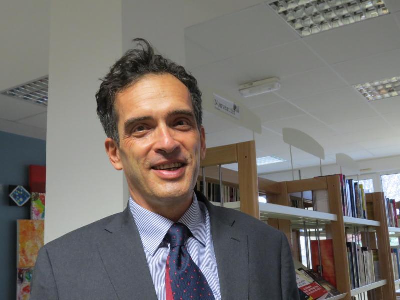Olivier Brandouy, recteur d'académie.